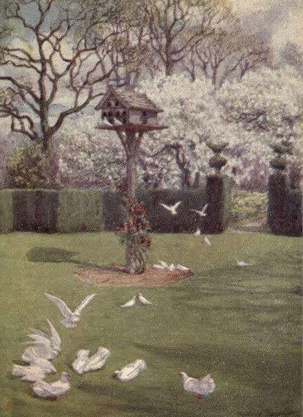 A Book of Old-World Gardens - A Quaint Garden (1918)