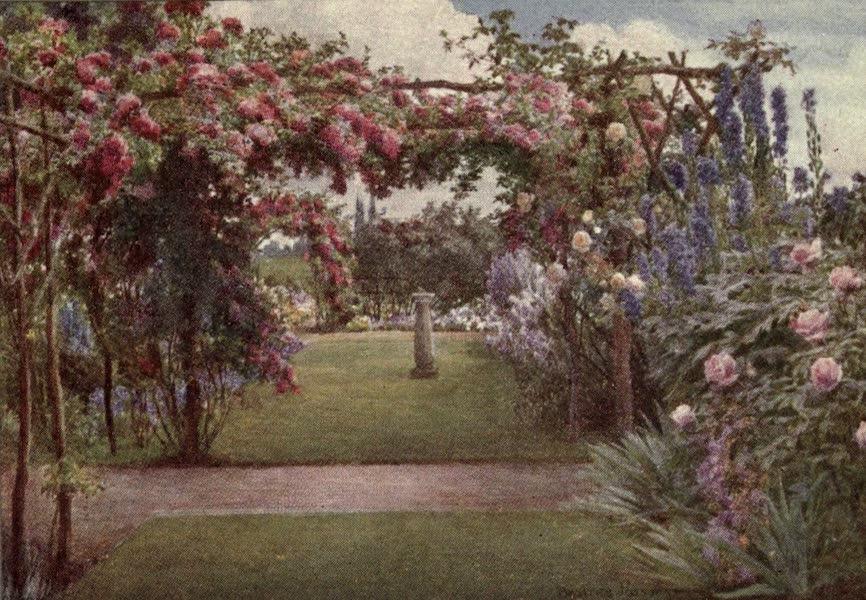 A Book of Old-World Gardens - A Gay Garden (1918)