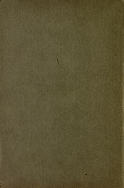 A Book of Old-World Gardens - Back Cover (1918)