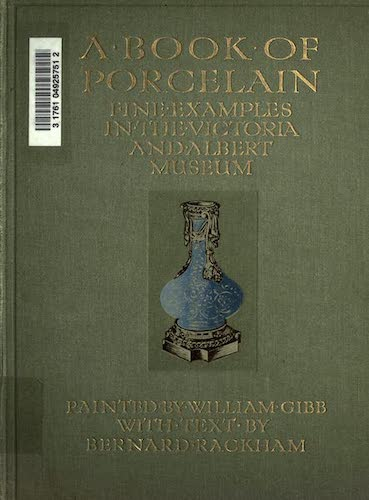 Chromolithography - A Book of Porcelain