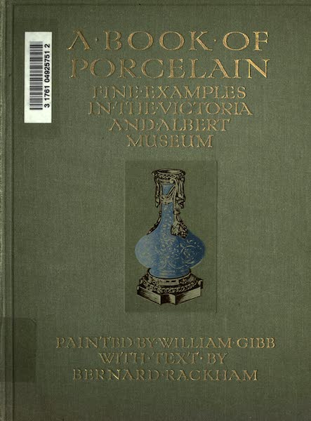 A Book of Porcelain - Front Cover (1910)