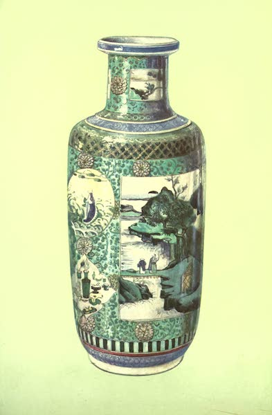 A Book of Porcelain - Ewer, Period of Wan Li. Chinese, with Augsburg Mount. (1910)