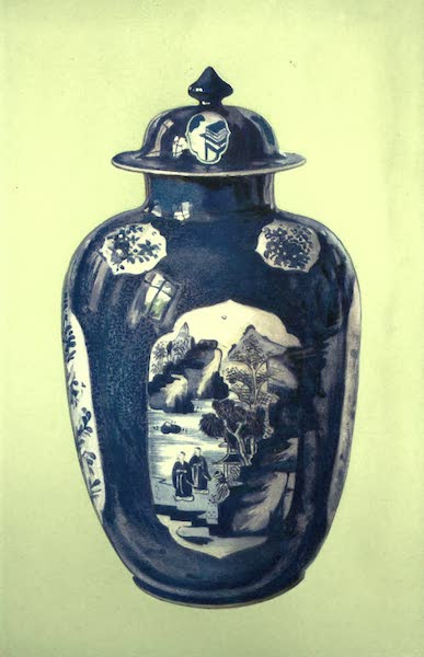 A Book of Porcelain - Vase, famille verte. Chinese, Period of K'ang Hsi. (1910)