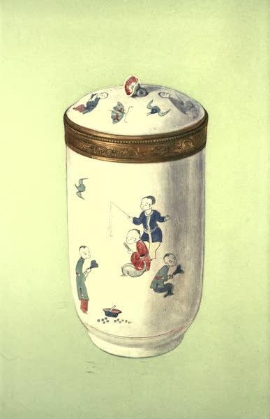 A Book of Porcelain - Bottle, Medici Porcelain. Florentine. (1910)