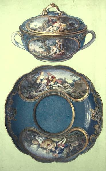 A Book of Porcelain - Toilette-pot, St. Cloud, with Ormolu Mount. (1910)