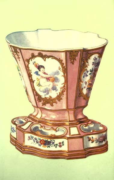 A Book of Porcelain - Toilette-pot, Chantilly, with Japanese Design. (1910)