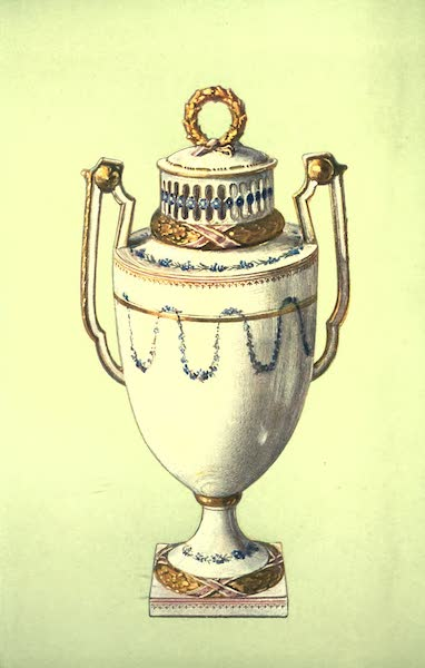 A Book of Porcelain - Ewer and Basin, Sèvres, yellow ground. (1910)