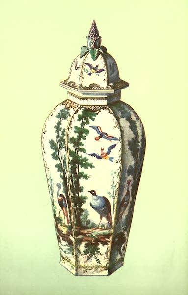 A Book of Porcelain - Vase, Sèvres, green ground.xii (1910)