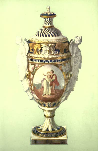 A Book of Porcelain - Vase, Sèvres, bleu de roi, given by Gustavus III. to Catherine II. (1910)