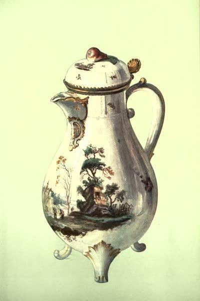 A Book of Porcelain - Figure of a Shepherdess, Chelsea. (1910)