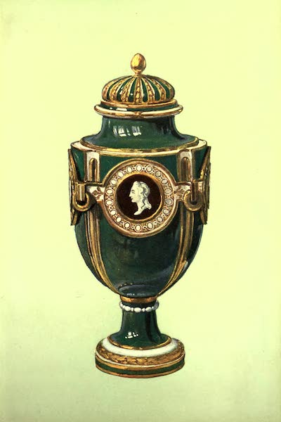 A Book of Porcelain - Vase, Chelsea, Mazarine Blue. (1910)