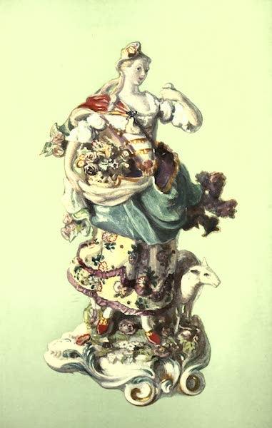 A Book of Porcelain - Teapot, Chelsea, Claret-colour, with Figures after Watteau. (1910)