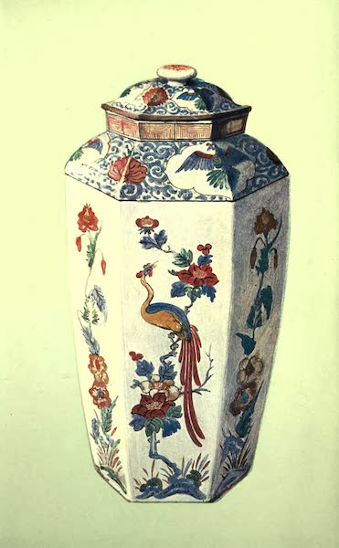 A Book of Porcelain - Vase, Chelsea-Derby, with Biscuit Handles. (1910)