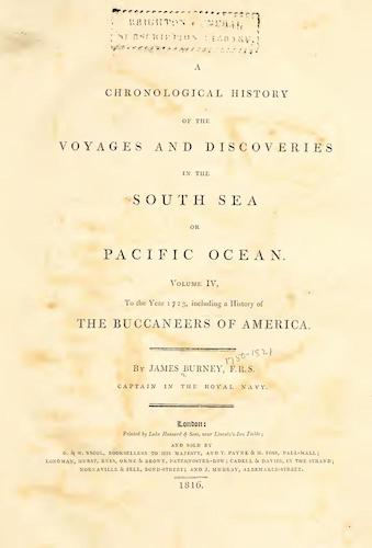 Exploration - A Chronological History of the Discoveries in the South Sea Vol. 4