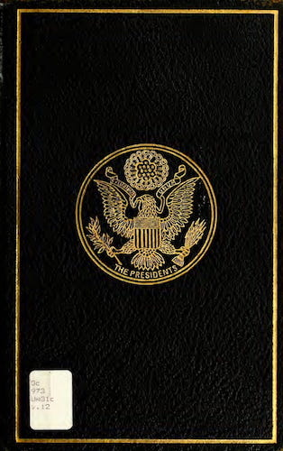 Aquatint & Lithography - A Compilation of the Messages and Papers of the Presidents Vol. 12