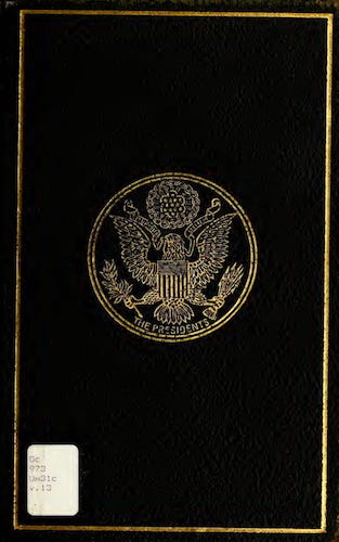 Aquatint & Lithography - A Compilation of the Messages and Papers of the Presidents Vol. 13