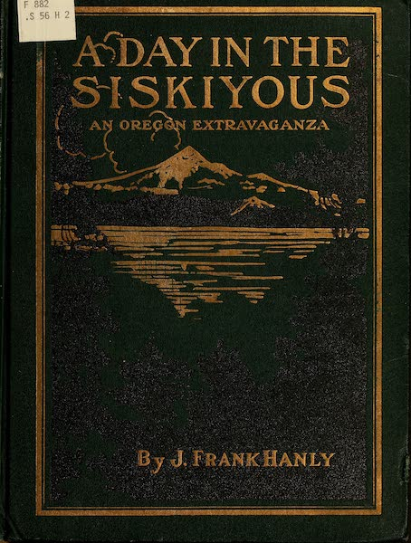 A Day in the Siskiyous - Front Cover (1916)