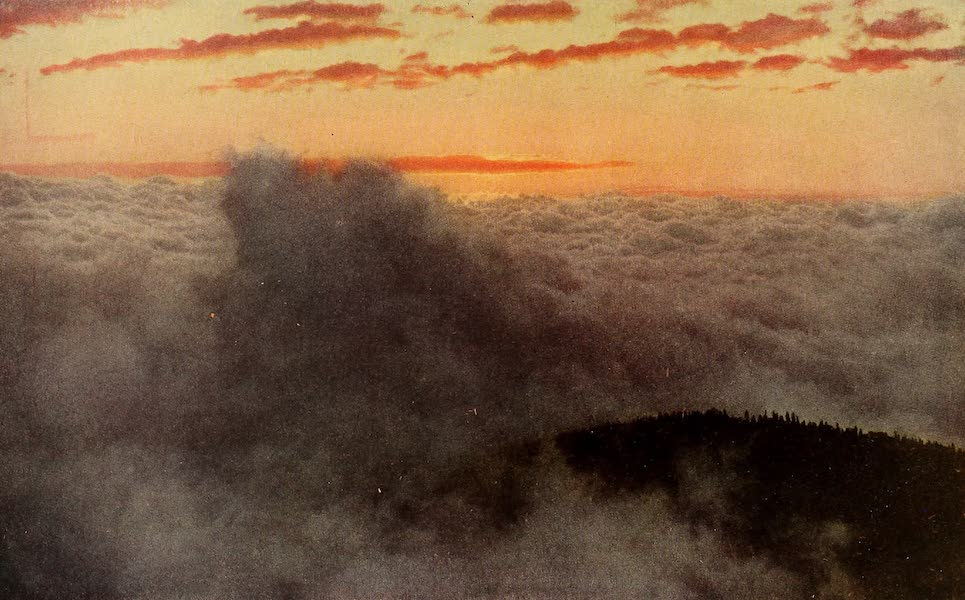 A Day in the Siskiyous - Streaming Through a Periphery of Cloud (1916)
