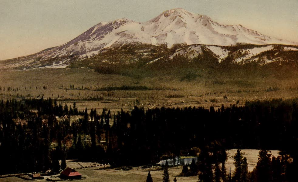 A Day in the Siskiyous - Mt.Shasta : A Far-Flung, Space-Throned Wonder (1916)