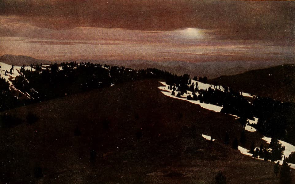 A Day in the Siskiyous - The Moon - Changeful Nurseling (1916)