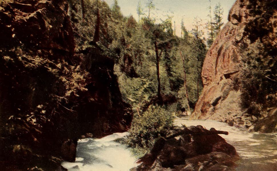 A Day in the Siskiyous - Between the Canyon's Walls (1916)