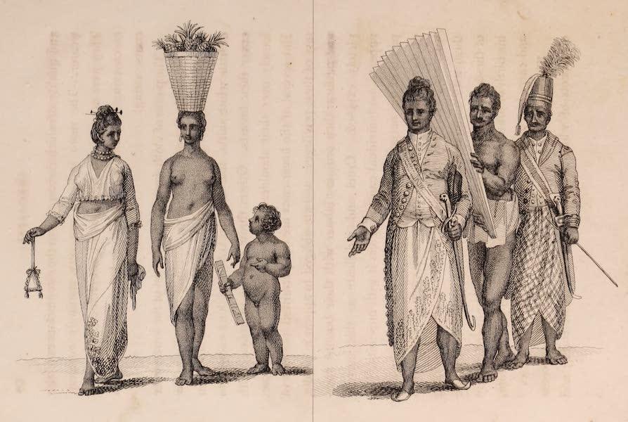 A Description of Ceylon Vol. 1 - Cingalese Dresses (1807)