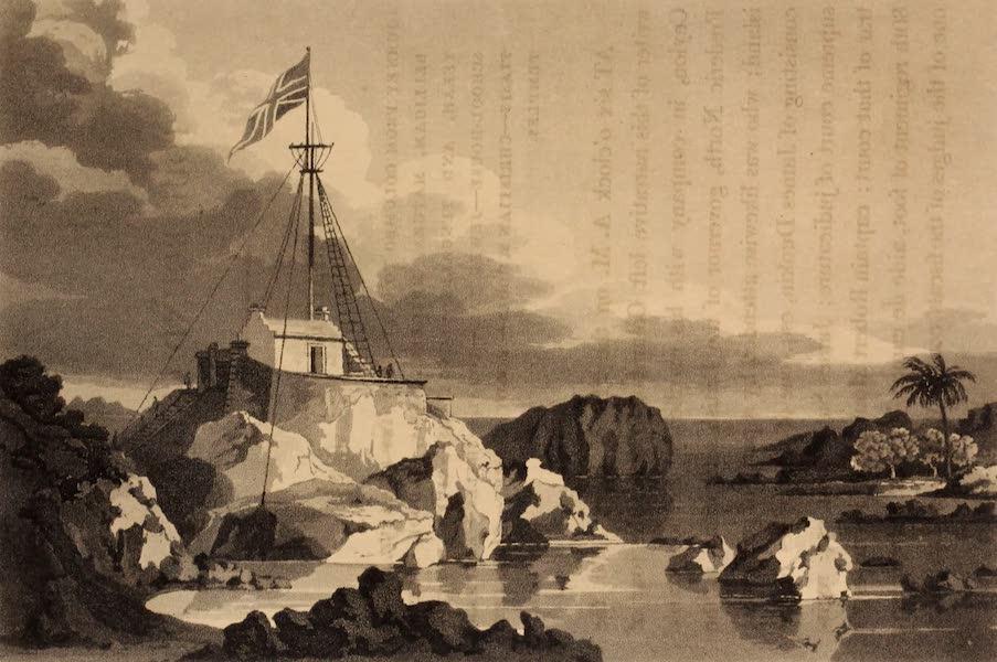 A Description of Ceylon Vol. 1 - Flag Staff at Point de Galle (1807)