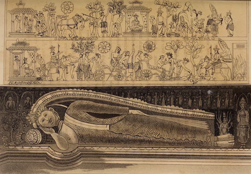 A Description of Ceylon Vol. 1 - Image of Buddha reclining (1807)