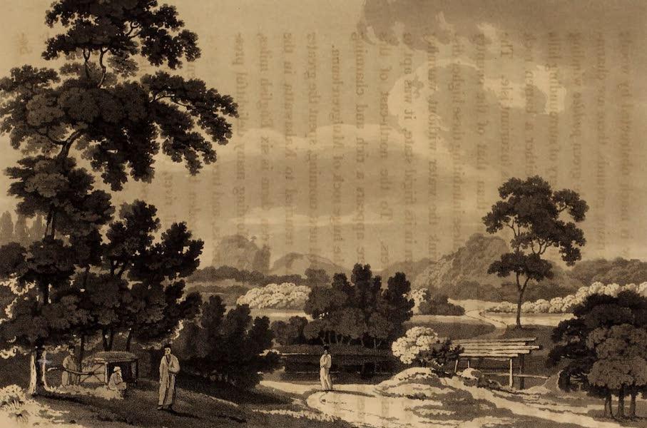 A Description of Ceylon Vol. 1 - Mulgeerelenna seen from Kahawatta (1807)