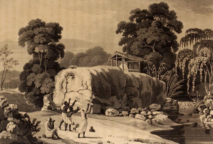 A Description of Ceylon Vol. 2 - Temple of Buddha at Arandera (1807)