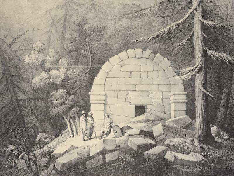 A Description of some Ancient Monuments in Lydia and Phyrgia - Sepulchral Vault near Afghan-Kiu (1842)