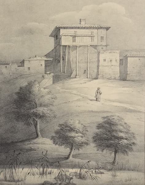 A Description of some Ancient Monuments in Lydia and Phyrgia - Aga's House, Gombet-Li (1842)