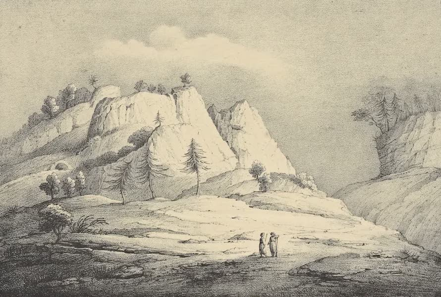 A Description of some Ancient Monuments in Lydia and Phyrgia - Entrance of the Valley of Dogan-Lu from the South-West (1842)
