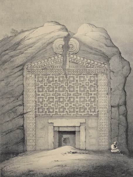 A Description of some Ancient Monuments in Lydia and Phyrgia - Tomb of Midas, Dogan-Lu (1842)