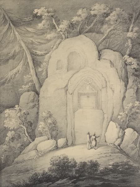 A Description of some Ancient Monuments in Lydia and Phyrgia - Monument with Inscriptions on the West Side of Dogan-Lu (1842)