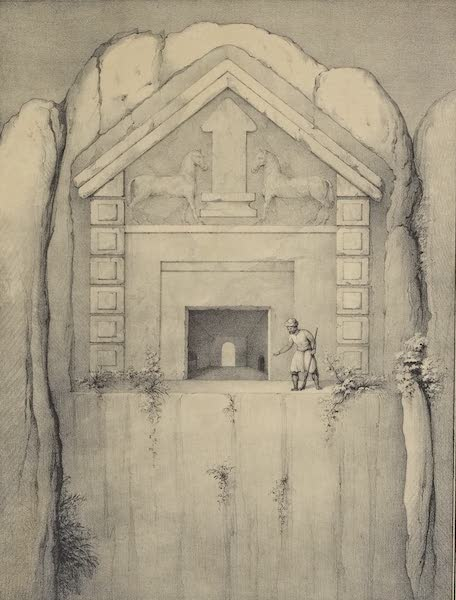 A Description of some Ancient Monuments in Lydia and Phyrgia - Monument at Yapul-Dak (1842)