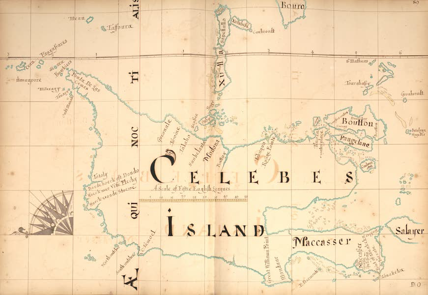 A Description of the Sea Coasts in the East Indies - 89) Celebes Island (1690)