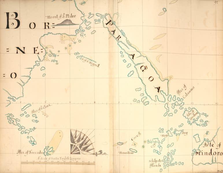 A Description of the Sea Coasts in the East Indies - 92) Borneo, Paragoa, Isle of Mindoro (1690)