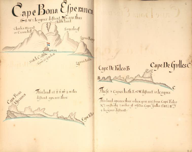 A Description of the Sea Coasts in the East Indies - 2) Cape Bona Esperanca (1690)