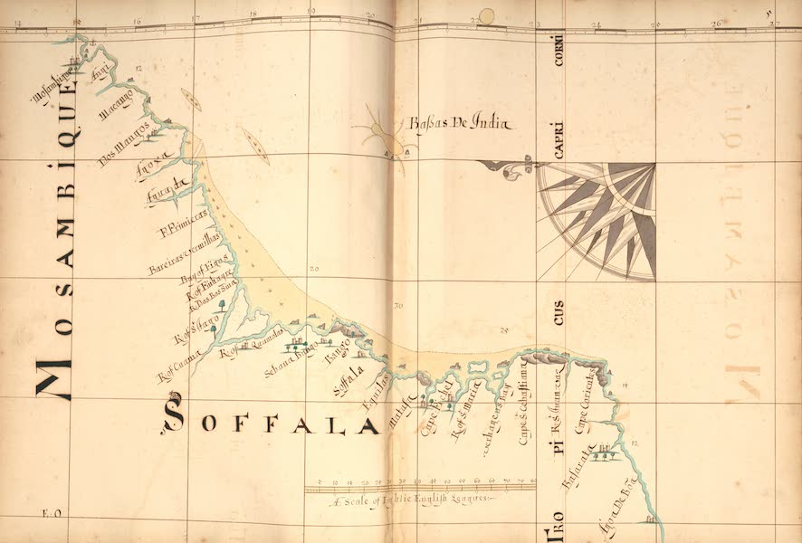 A Description of the Sea Coasts in the East Indies - 5) Mosambique, Soffala (1690)