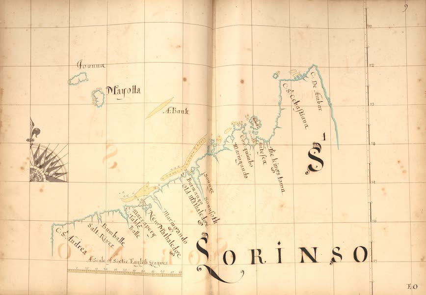 A Description of the Sea Coasts in the East Indies - 9) S. Lorinso [II] (1690)