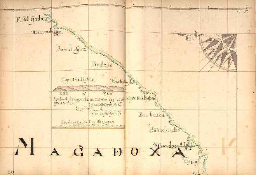 A Description of the Sea Coasts in the East Indies - 12) Magadoxa (1690)