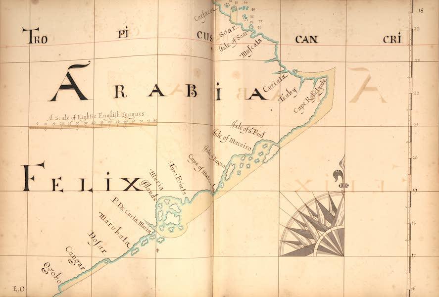 A Description of the Sea Coasts in the East Indies - 18) Arabia, Felix (1690)