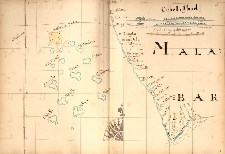 A Description of the Sea Coasts in the East Indies - 26) Malabar (1690)