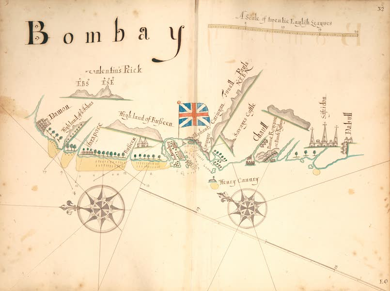 A Description of the Sea Coasts in the East Indies - 32) Bombay (1690)