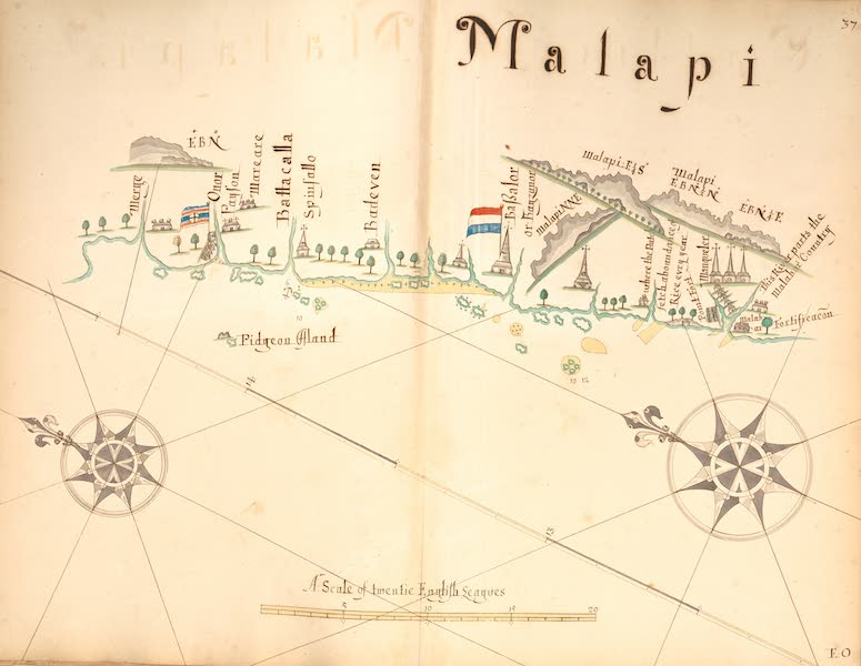 A Description of the Sea Coasts in the East Indies - 37) Malapi (1690)