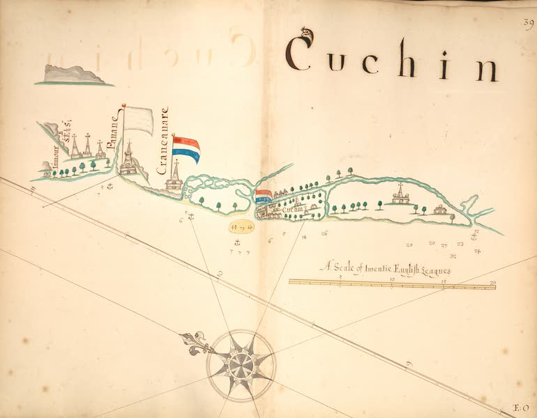 A Description of the Sea Coasts in the East Indies - 39) Cuchin (1690)