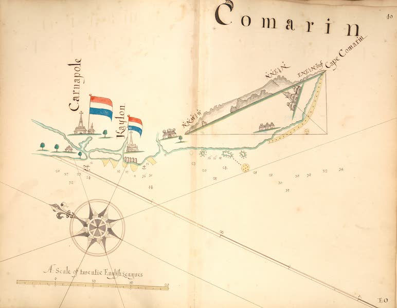 A Description of the Sea Coasts in the East Indies - 40) Comarin (1690)