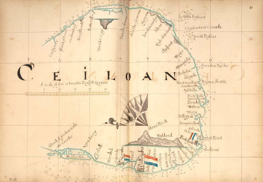 A Description of the Sea Coasts in the East Indies - 41) Ceiloan [I] (1690)