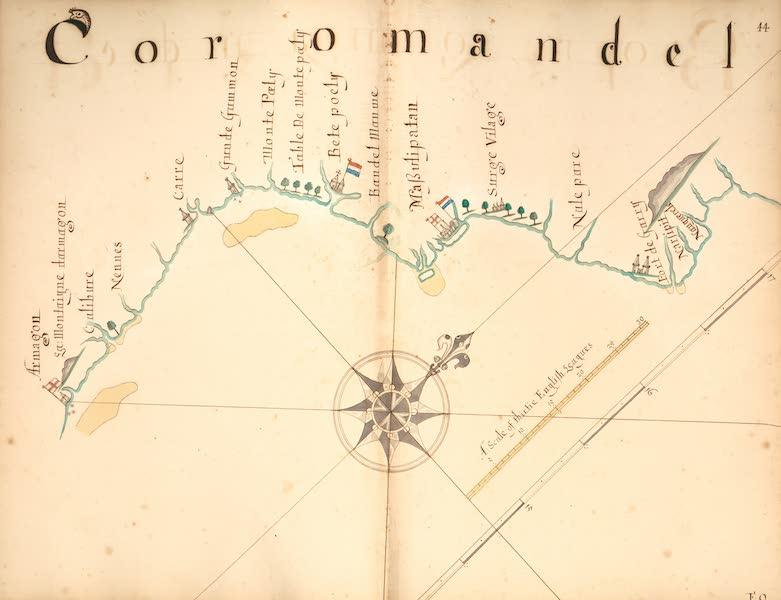 A Description of the Sea Coasts in the East Indies - 44) Coramandel [II] (1690)